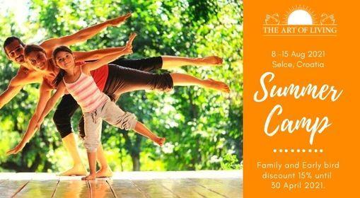 Art of Living SUMMER CAMP in Croatia 2021., 8 August | Event in Rijeka | AllEvents.in