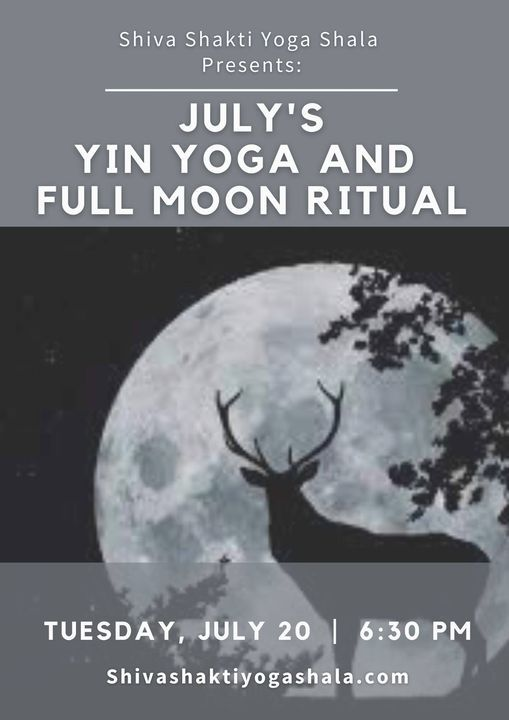 Yin Yoga & Full Moon Ritual for August, 17 August   Event in Pawtucket   AllEvents.in