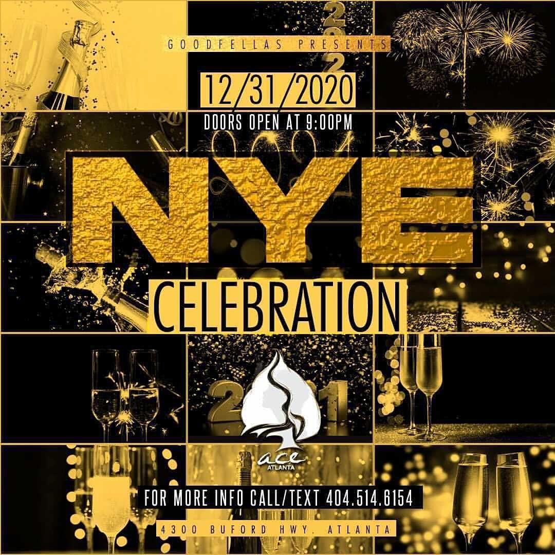 THE BIGGEST NEW YEARS EVE CELEBRATION  ACE ATLANTA  NYE 11