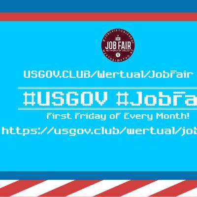 Monthly USGov Virtual JobExpo  Career Fair Riverside