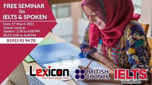Free Seminar on IELTS & Spoken English | Event in Khulna | AllEvents.in