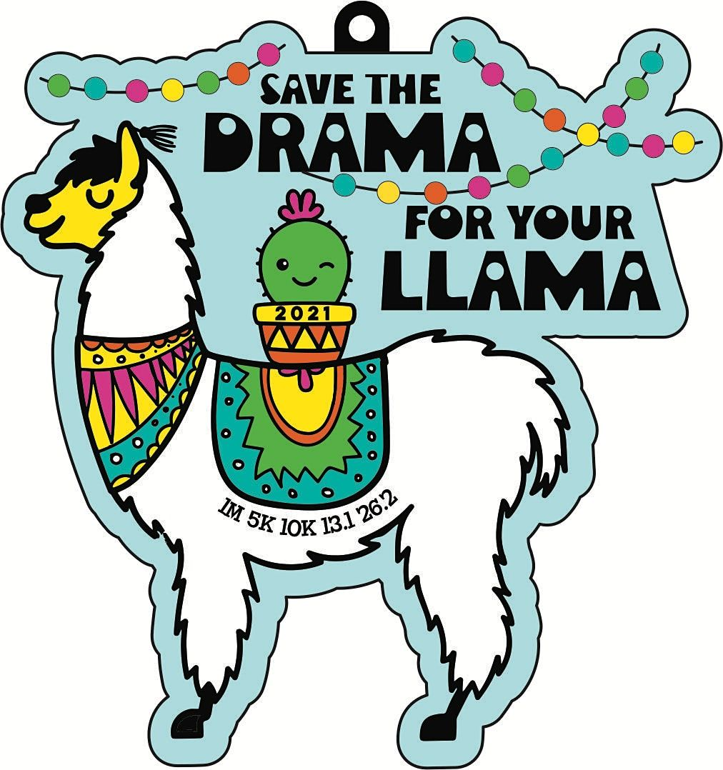 2021  Save the Drama for Your Llama 5K 10K 13.1-Race from Home  Save $5, 9 December   Event in Jackson   AllEvents.in