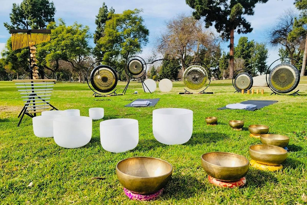 Wellness Wednesday SOUNDBath MEDITATION At  The Park   Event in Long Beach   AllEvents.in