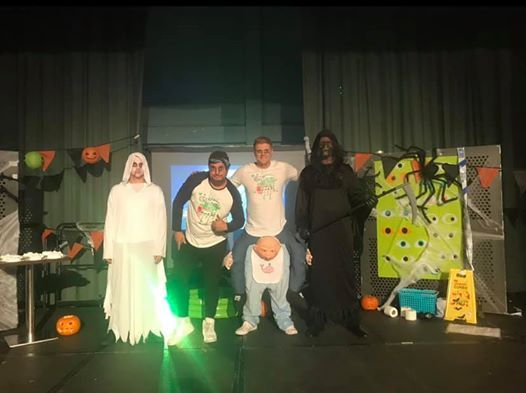 Halloween entertainment show