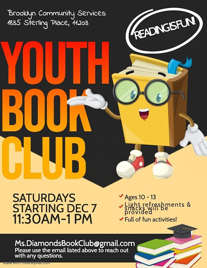 Youth Book Club, 11 December   Event in Brooklyn   AllEvents.in