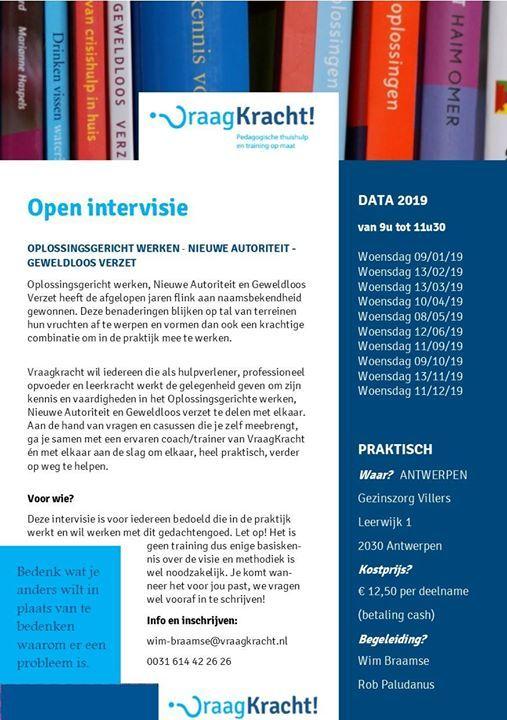 Open Intervisie Nieuwe Autoriteit - Geweldloos Verzet