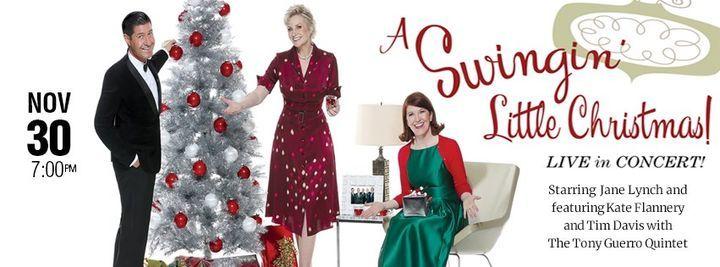 A Swingin' Little Christmas! Starring Jane Lynch, 30 November   Event in Stuart   AllEvents.in