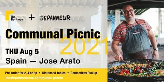 COMMUNAL PICNIC: Spain | Jose Arato, 5 August | Event in Rexdale | AllEvents.in