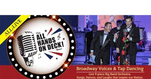 All Hands On Deck! Show - Branson, MO, 20 April | Event in Branson | AllEvents.in