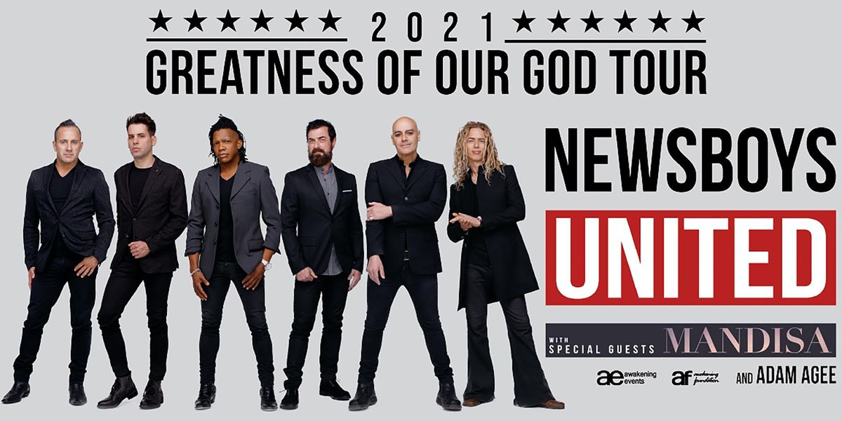 NEWSBOYS UNITED:  Greatness Of Our God Tour | Event in Meridian | AllEvents.in