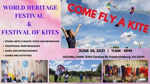 World Heritage Festival / Festival of Kites ~ Fredericksburg, VA, 26 June | Event in Fredericksburg | AllEvents.in