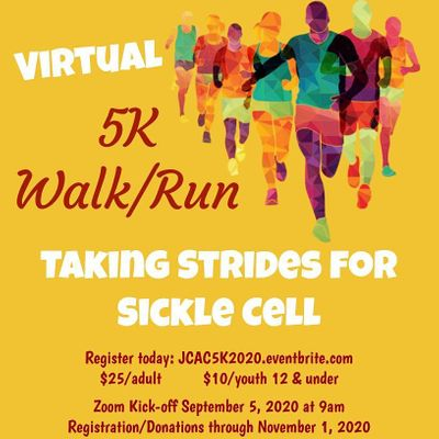 Johnston County Alumnae Chapter Virtual 5K RunWalk Strides For Sickle Cell