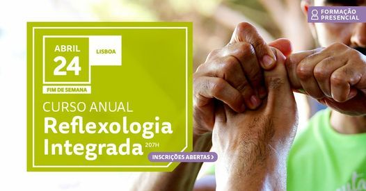 Curso Reflexologia Integrada, 24 April | Event in Lisbon | AllEvents.in