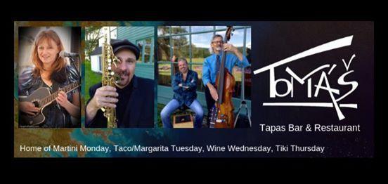 Judith Tulloch Band at Tom Tapas Bar & Restaurant