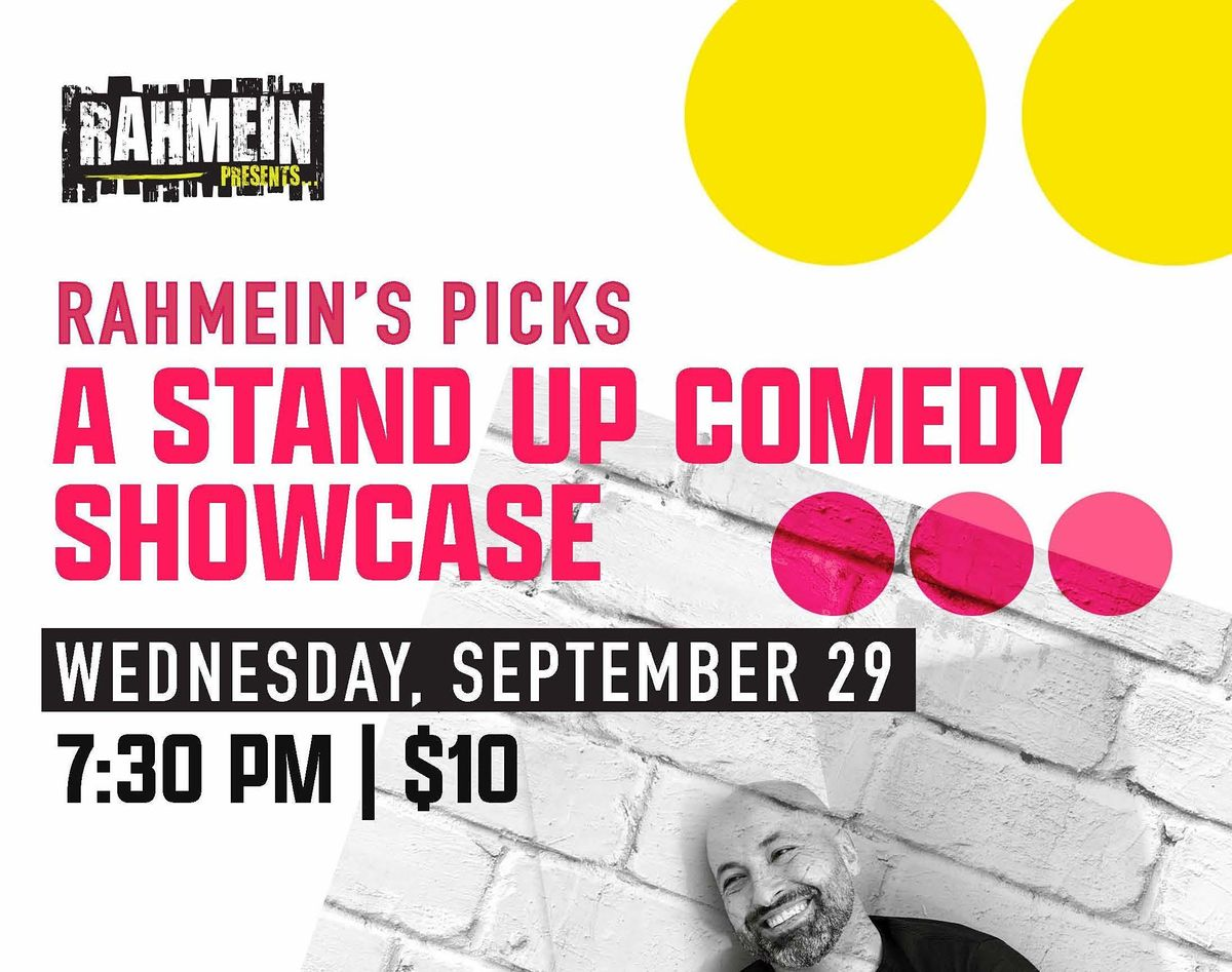 Rahmein's Picks: A Stand Up Comedy Showcase | Event in Arlington | AllEvents.in