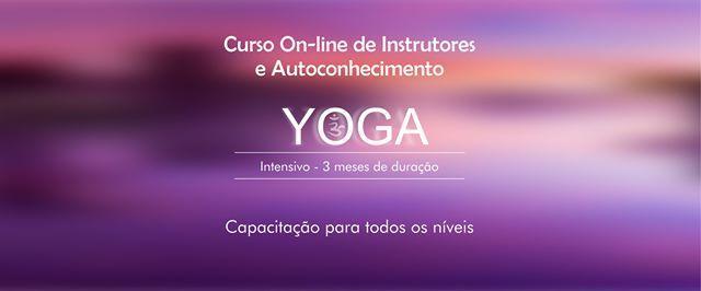 Curso de Instrutor de Yoga e Autoconhecimento - 100% On-line