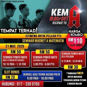 Seminar Magnet A Matematik PT3