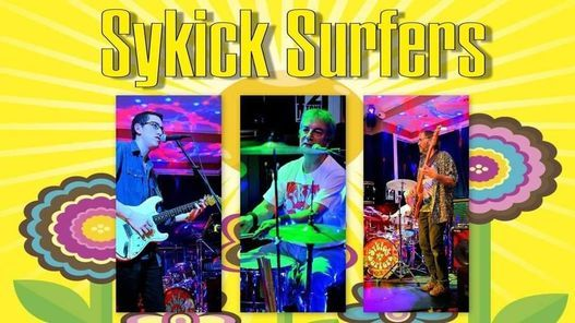 Sykick Surfers - The Ironmaster - Fareham, 10 September | Event in Fareham | AllEvents.in