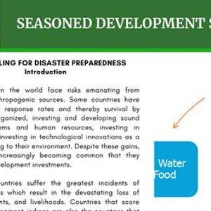 Modeling For Disaster Preparedness and Response Training