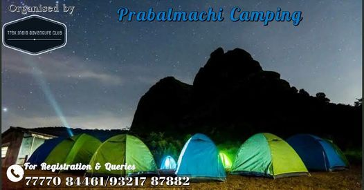Prabalmachi Camping And Trekking | Event in Mumbai | AllEvents.in