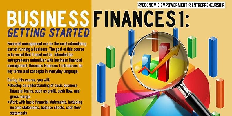WEBINAR Business Finances 1: Getting Started, Upper Manhattan 12/2/2021, 2 December   Online Event   AllEvents.in