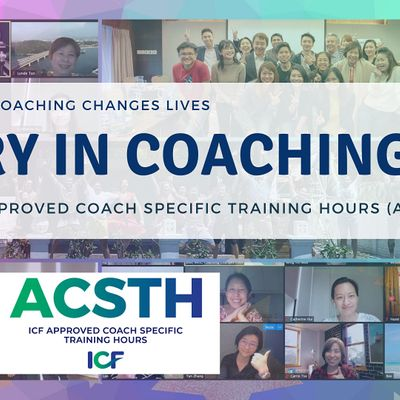 ICF Accredited Mastery in Coaching Certification Global Live Online 12Weeks