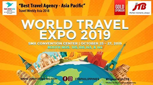 JTB Philippines Joins the World Travel Expo 2019 at Smx
