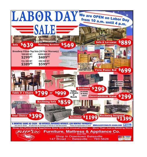 Marvelous Labor Day Sale At Sleep Star Lite Batesville Caraccident5 Cool Chair Designs And Ideas Caraccident5Info