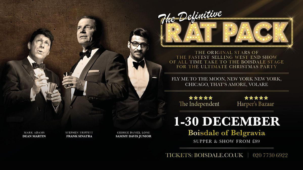 The Definitive Rat Pack, 1 December | Event in London | AllEvents.in