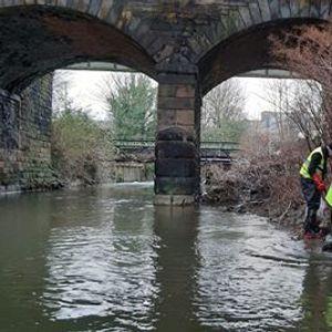 McGregors Pond Volunteer Day - River Rother