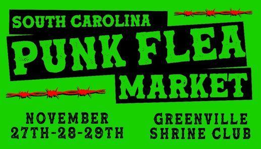 November Punk Flea Market | Event in Greenville | AllEvents.in