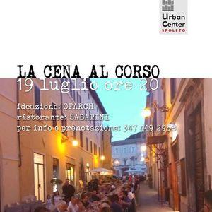 La CENA al CORSO_OBS(p)OLETO