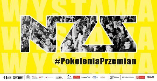Wystawa #PokoleniaPrzemian NZS 1980-2020   Event in Warsaw   AllEvents.in