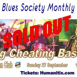 CBS September Blues Jam hosted by Lying Cheating Bastards