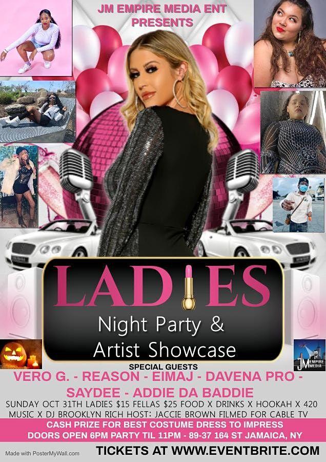 JM Empire Media Ent Ladies Night Party & Halloween Showcase 10.31.21, 31 October   Event in Queens   AllEvents.in