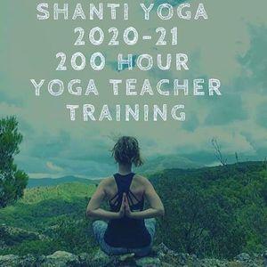 Shanti Yoga 200 hour Teacher Training 2020-21