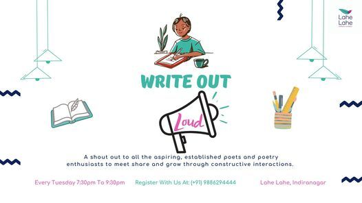 Write Out Loud #243 | Event in Bangalore | AllEvents.in
