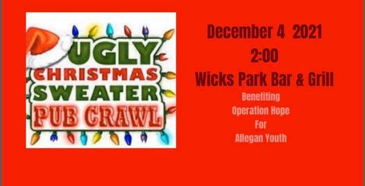 Ugly Christmas Sweater Pub Crawl, 4 December   Event in Saugatuck   AllEvents.in