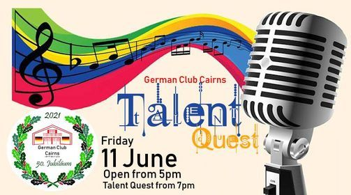 Talent Quest, 11 June | Event in Manunda | AllEvents.in