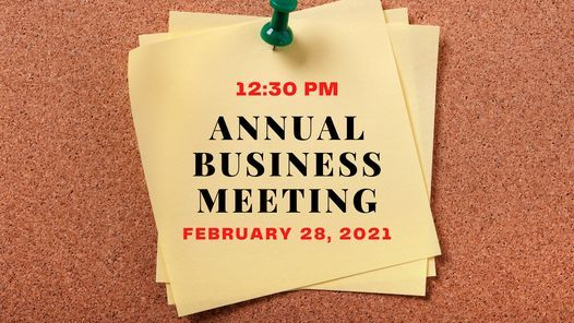 Annual Business Meeting, 28 February | Event in Indianapolis | AllEvents.in