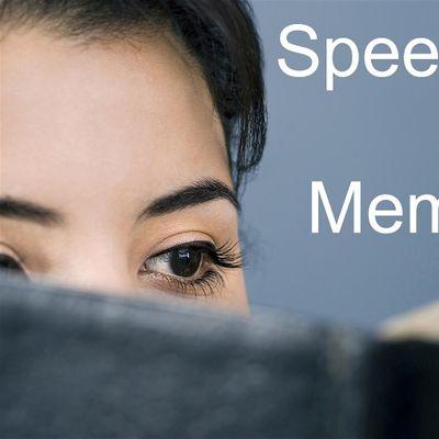 Speed Reading & Memorization Class in Washington DC