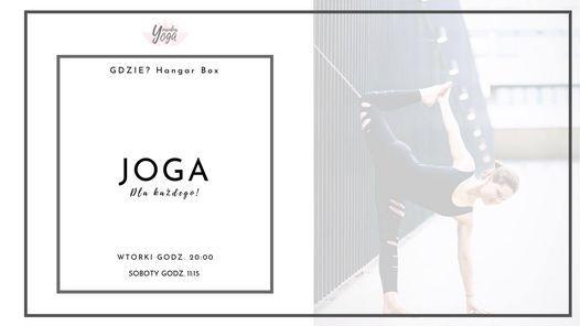 ✩ JOGA Dla Każdego! ✩ regularne zajęcia ✩ Hangar Box ✩   Event in Poznan   AllEvents.in