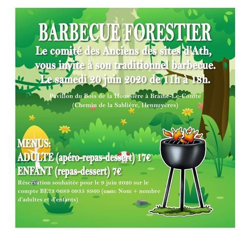 Barbecue forestier 2020