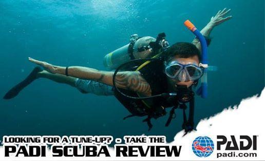 PADI Scuba Review Evening