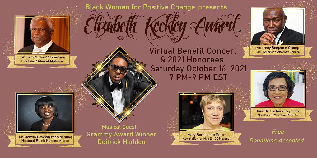 The Elizabeth Keckley Awards & Concert | Online Event | AllEvents.in