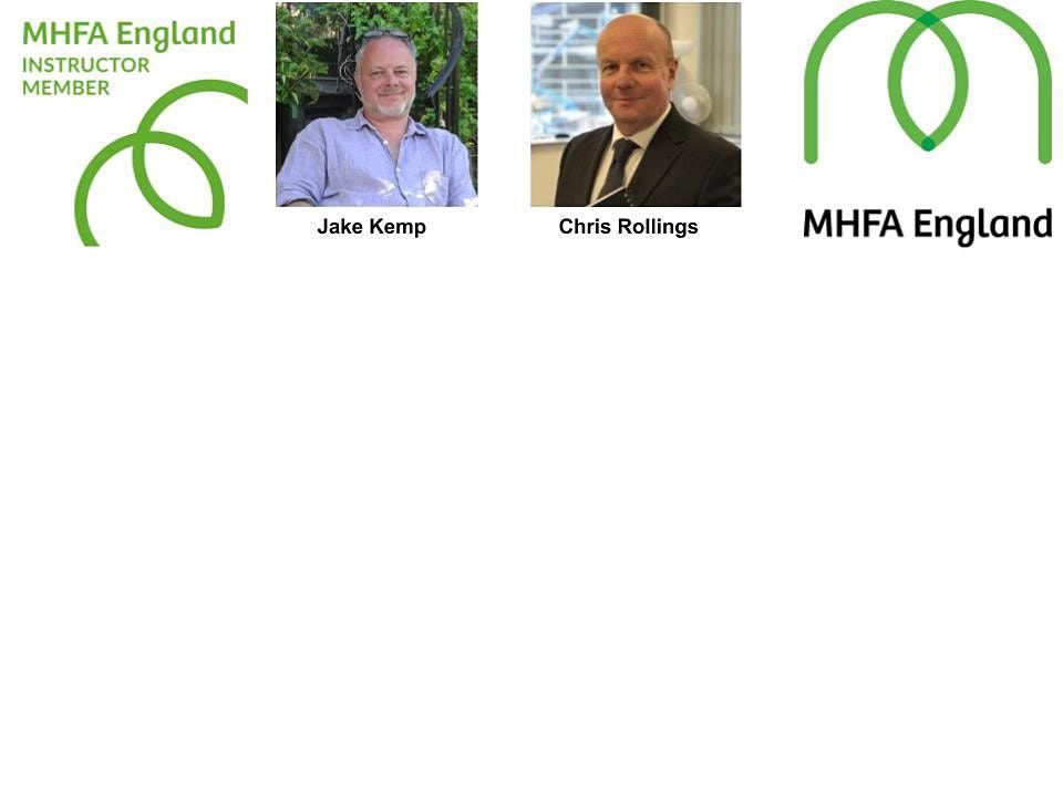 Online MHFA Mental Health First Aid (Full Qualification) | Online Event | AllEvents.in