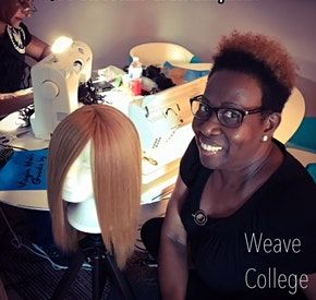 Miami Fl  Custom Enclosed Wig Making Class with Sewing Machine