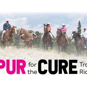 Spur for the Cure Trail Ride