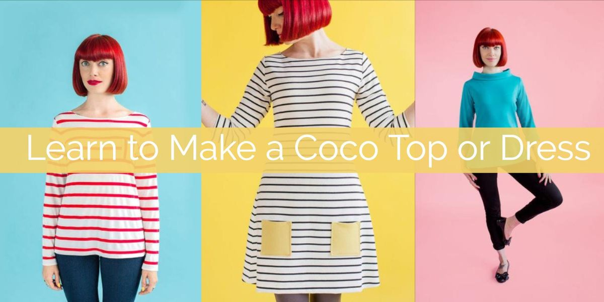 Learn to Make a Coco Top or Dress