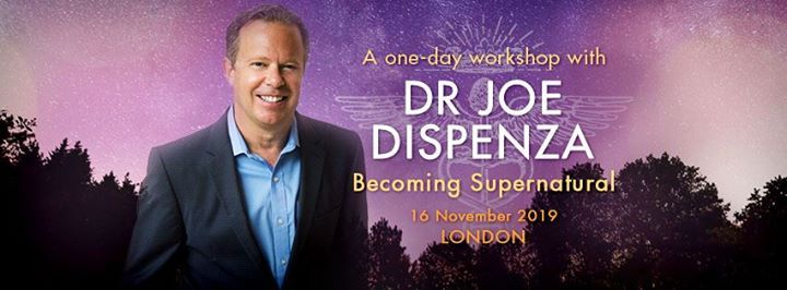 Becoming Supernatural with Dr Joe Dispenza at Friends House